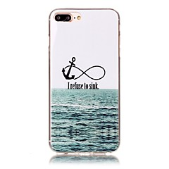 billige Etuier til iPhone 7 Plus-Til iPhone X iPhone 8 Etuier Mønster Bagcover Etui Anker Blødt TPU for Apple iPhone X iPhone 8 Plus iPhone 8 iPhone 7 Plus iPhone 7