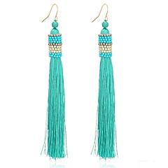 Women's Stud Earrings Drop Earrings Imitation Pearl Tassel Personalized Alloy Geometric Jewelry For Party Gift
