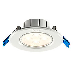 cheap Indoor Lights-1pc 4 W 4 LED Beads LED Recessed Lights Warm White White 220 V / CE Certified / 80