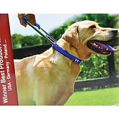 お買い得  犬用首輪/リード/ハーネス-犬 カラー 調整可能 / 携帯用 / アンチスリップ ソリッド ナイロン ブラック