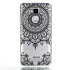 hoesje Voor Asus Patroon Achterkantje Mandala Zacht TPU voor Asus Zenfone 3 Max ZC520TL