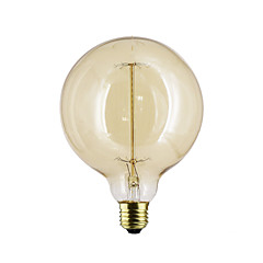 preiswerte LED-Birnen-1pc 40 W E26 / E27 / E27 G125 Warmes Weiß 2300 k Temperaturregler 220-240 V / 110-130 V