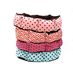 Σκύλος Κρεβάτια Κατοικίδια Χαλάκια & Μαξιλαράκια Πουά Τριανταφυλλί Κόκκινο Μπλε Ροζ