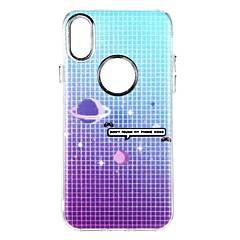 для крышки случая противоударная задняя крышка случая небо цвет градиент мягкий tpu для яблока iphone x iphone 8 плюс iphone 8 iphone 7