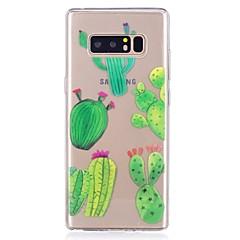 halpa Galaxy Note 3 kotelot / kuoret-Etui Käyttötarkoitus Samsung Galaxy Ultraohut Läpinäkyvä Kuvio Takakuori Puu Pehmeä TPU varten Note 8 Note 5 Edge Note 5 Note 4 Note 3