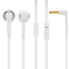 S808 In Ear Wired Headphones Dynamic Plastic Mobile Phone Earphone Noise-isolating with Microphone Headset
