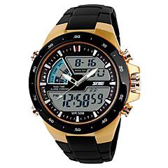 preiswerte Tolle Angebote auf Uhren-SKMEI Herrn Sportuhr / Digitaluhr Armbanduhren für den Alltag / Cool Plastic Band Freizeit Schwarz