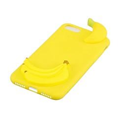 Кейс для Назначение Apple iPhone X Защита от удара Задняя крышка 3D в мультяшном стиле Фрукты Мягкий TPU для iPhone X iPhone 8 Plus