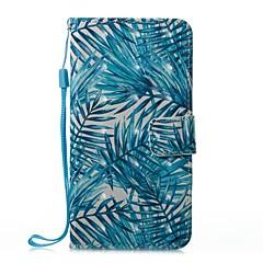 Недорогие Кейсы для iPhone 5-Кейс для Назначение Apple iPhone X / iPhone 8 Plus Кошелек / Бумажник для карт / со стендом Чехол дерево Твердый Кожа PU для iPhone X / iPhone 8 Pluss / iPhone 8