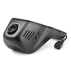 preiswerte Autozubehör-A8 HD 1280 x 720 / 1080p Auto dvr 140 Grad Weiter Winkel Kein Bildschirm (Ausgabe von APP) Autokamera mit iOS-App / Android APP / Wifi Auto-Recorder / Nachtsicht / G-Sensor / Parkmodus