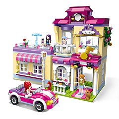 ieftine -ENLIGHTEN Lego Μοντέλα και κιτ δόμησης Jucarii Casă Centru de instruire Superstar Reparații Clasic Model nou Adulți Fete 734 Bucăți