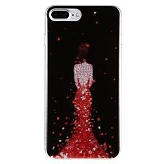 для случая крышка imd картина задняя крышка случая сексуальная леди твердая ПК для яблока iphone 7 плюс iphone 7 iphone 6s плюс iphone 6