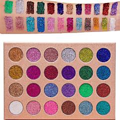 24 Paleta de Sombras Paleta da sombra Maquiagem para o Dia A Dia Maquiagem para Dias das Bruxas Maquiagem de Festa