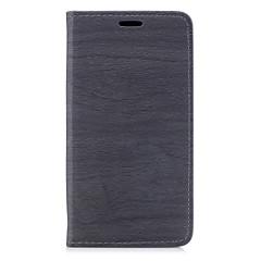 Недорогие Чехлы и кейсы для Xiaomi-Кейс для Назначение Xiaomi Бумажник для карт / со стендом / Флип Чехол Полосы / волосы Твердый Кожа PU для Xiaomi Redmi Note 4X / Xiaomi Redmi 4a / Xiaomi Redmi 4X