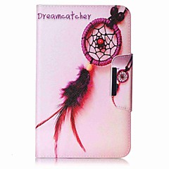 Dream Catcher Pattern Card Holder Wallet with Stand Flip Magnetic PU Leather Case for Samsung Galaxy Tab E 8.0 T377 T377V 8.0 inch Tablet PC
