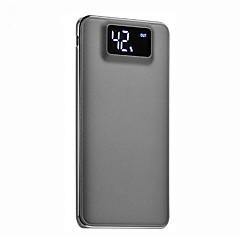 お買い得  モバイルバッテリー-10000mAh 電源銀行外部バッテリ 5 バッテリーチャージャー フラッシュライト マルチシュッ力 QC 2.0 超薄型 LCD