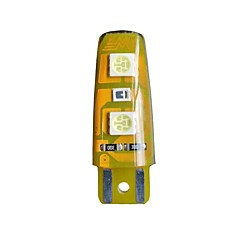 1pc led夜間ライト2w usb dc5v充電式装飾スマートタッチセンサーのランタン& テントライトホワイトグリーン