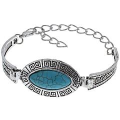 preiswerte Armbänder-Damen Türkis Ketten- & Glieder-Armbänder - Türkis Klassisch Armbänder Blau Für Normal