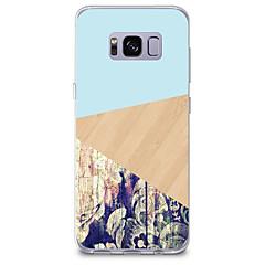 voordelige Galaxy S6 Edge Hoesjes / covers-hoesje Voor Samsung Galaxy Patroon Achterkant Houtnerf Effen Kleur Zacht TPU voor S8 Plus S8 S7 edge S7 S6 edge plus S6 edge S6 S6 Active