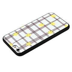 Кейс для Назначение Apple iPhone 7 iPhone 7 Plus Защита от удара Рельефный Задняя крышка Геометрический рисунок Мягкий TPU для iPhone 7