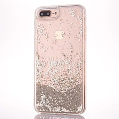 hoesje Voor Apple iPhone 7 iPhone 7 Plus Stromende vloeistof Achterkantje Glitterglans Hard PC voor iPhone 7 Plus iPhone 7 iPhone 6s Plus