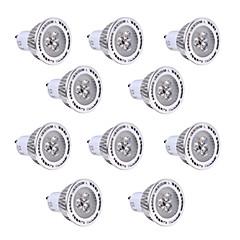 お買い得  LED 電球-YWXLIGHT® 10個 3W 200-300lm GU10 LEDスポットライト 3 LEDビーズ SMD 3030 温白色 クールホワイト 85-265V