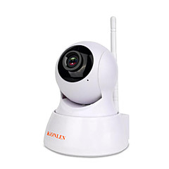 konlen® wireless security video camera ip 720p wifi hd cctv vigilância indoor home p2p rede ip cam visão noturna tf sd audio xmeye