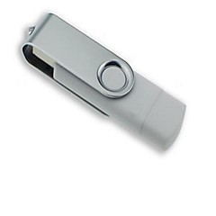 32gb otg swivel dobbel plugger usb flash drive u-disk usb minne disk for android smart telefon samsung / pc datamaskin