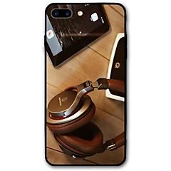 Недорогие Кейсы для iPhone X-Кейс для Назначение iPhone X iPhone 8 С узором Задняя крышка Панк Мягкий TPU для iPhone X iPhone 8 Plus iPhone 8 iPhone 7 Plus iPhone 7