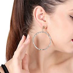 preiswerte Ohrringe-Damen Tropfen-Ohrringe Kreolen - Strass Bling Bling Gold / Silber Für Party Verabredung