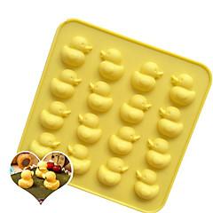 お買い得  ベイキング用品&ガジェット-ベークツール シリコーン ベーキングツール / 3D / クリエイティブキッチンガジェット クッキー / チョコレート / アイス 漫画の形 Cookieツール 1個
