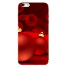 Кейс для Назначение Apple iPhone X iPhone 8 iPhone 8 Plus С узором Задняя крышка Рождество Мягкий TPU для iPhone X iPhone 8 Plus iPhone 8