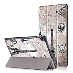 お買い得  タブレット用ケース-ケース 用途 Asus フルボディーケース / タブレットケース ハード PUレザー のために