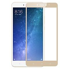 Недорогие Защитные плёнки для экранов Xiaomi-Защитная плёнка для экрана XIAOMI для Xiaomi Mi Max 2 Закаленное стекло 1 ед. Защитная пленка на всё устройство Защита от царапин