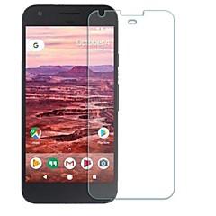 olcso Képernyő védők-Képernyővédő fólia Google mert Google Pixel XL Edzett üveg 1 db Karcolásvédő 2.5D gömbölyített szélek 9H erősség High Definition (HD)