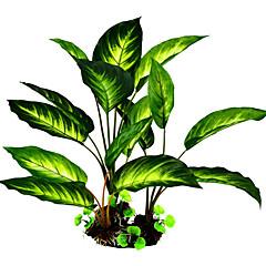 Διακόσμηση Ενυδρείου Υδρόβιο φυτό Ύφασμα