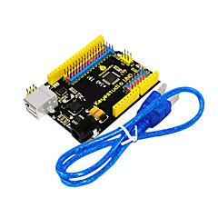 abordables Placas Base-keyestudio una versión actualizada oficial de r3 con interfaz de cabecera pin para arduino compatible