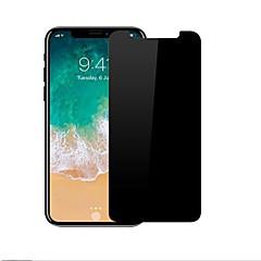 Недорогие Защитные пленки для iPhone X-Защитная плёнка для экрана для Apple iPhone X Закаленное стекло 1 ед. Уровень защиты 9H / 2.5D закругленные углы / Защита от царапин