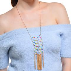 Mujer Collar Collares Declaración Forma Geométrica Legierung estilo de Bohemia De Gran Tamaño Joyas Para Fiesta Festival