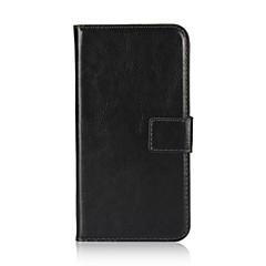 economico Custodie per iPhone 6 Plus-Custodia Per Apple iPhone X iPhone 8 Porta-carte di credito A portafoglio Con supporto Con chiusura magnetica Integrale Tinta unica