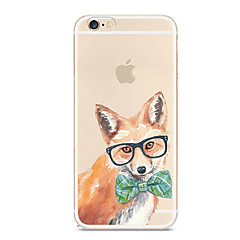 cheap iPhone Cases-Case For Apple iPhone X iPhone 8 iPhone 8 Plus Ultra-thin Transparent Pattern Back Cover Dog Soft TPU for iPhone X iPhone 8 Plus iPhone 8