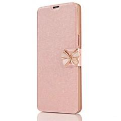 billige Galaxy S6 Etuier-Etui Til Samsung Galaxy S8 Plus S8 Kortholder Heldækkende Helfarve Sommerfugl Hårdt Kunstlæder for S8 S8 Plus S7 edge S7 S6 edge S6