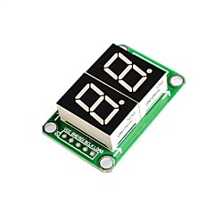 74hc595 napęd statyczny 2 segmentowy moduł wyświetlacza cyfrowego 0,5 cala i 2 wysoki jasnoczerwony