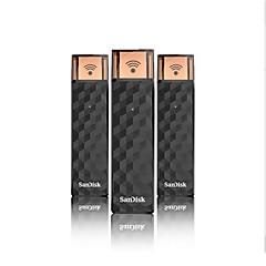 お買い得  USBメモリー-SanDisk 32GB USBフラッシュドライブ USBディスク USB 2.0 WIFI SDWS4-032G-Z46