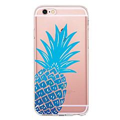 для крышки корпуса ультратонкий прозрачный узор задняя крышка чехол фрукты мягкий tpu для apple iphone x iphone 8 plus iphone 8 iphone 7