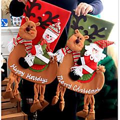 bolsa de almacenamiento medias otras santa ocio cutícula otras decoraciones navideñas para la navidad