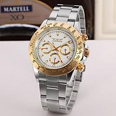 preiswerte Tolle Angebote auf Uhren-Jaragar Herrn Armbanduhr Armbanduhren für den Alltag / Cool Edelstahl Band Freizeit / Modisch Silber / Automatikaufzug