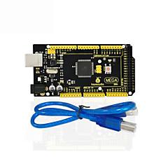お買い得  マザーボード-1pcs keyestudioメガ2560 r3 arduinoメガ2560 r3 / avrのための1pcsのUSBケーブル