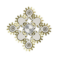 Fidget spinner -stressilelu hand Spinner Lelut rengas Spinner Metalli EDCStressiä ja ahdistusta Relief Office Desk Lelut Killing Time