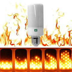 6W E27 LED-maissilamput T 99 ledit SMD 3528 Himmennettävissä Koristeltu Lämmin valkoinen 550-600lm 2800-3500K AC 85-265V